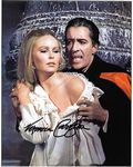 Veronica Carlson HAMMER HORROR genuine signed autograph10 by 8 COA 11417